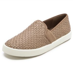 Vince Preston Woven Slip On Sneakers